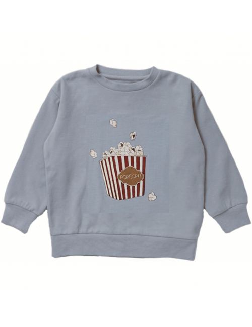 Lou Sweatshirt | powder blue