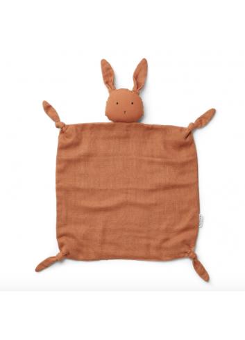 Knuffeldoekje Agnete | konijn sienna