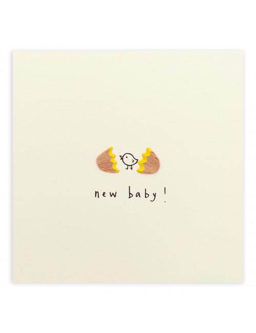 Wenskaart | new baby egg