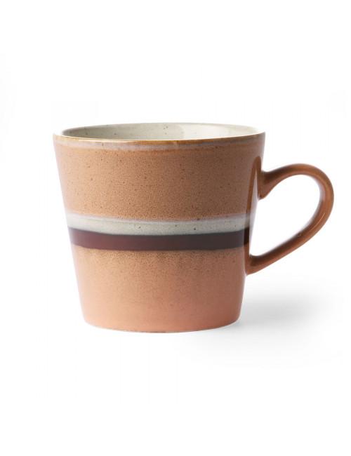 Ceramic 70's Cappuccino Mok | stream
