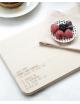 Houten Ontbijtplankje  | lieve mama, geniet