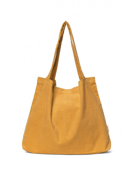 Shopper Rib Bag | mustard