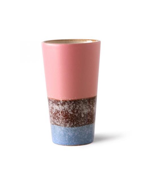 70's Ceramics Latte Mug | reef
