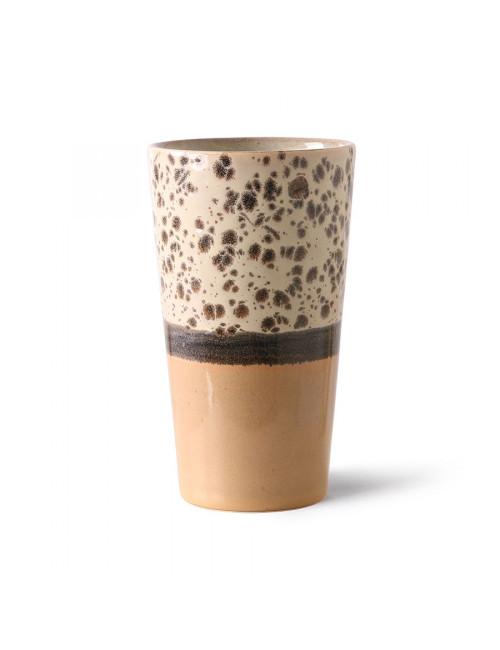 70's Ceramics Latte Mug | tropical