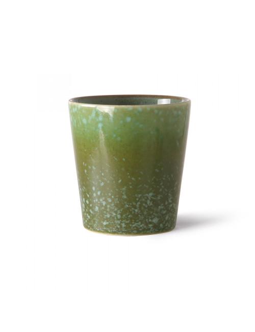 Ceramic 70's Koffiebeker | grass