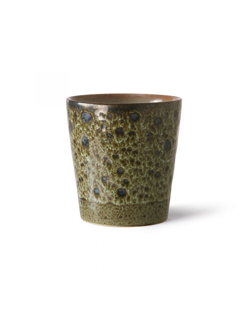 Ceramic 70's Koffiebeker | vulcano