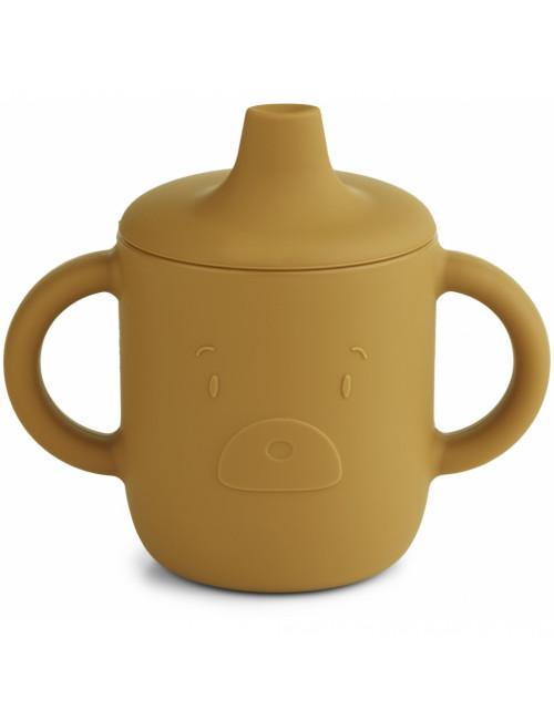 Drinkbeker Neil | mr bear golden caramel