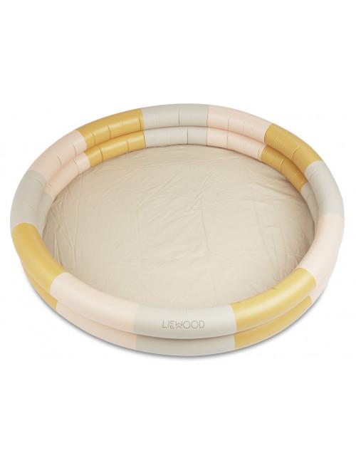 Zwembad Savannah | stripe peach/sandy/yellow mellow