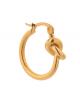 Oorbel Tied Up Hoop | gold