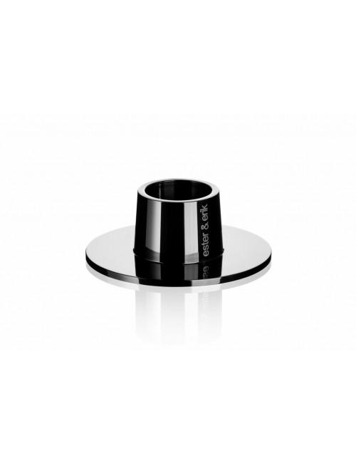 Kandelaar | medium/zwart/glanzend