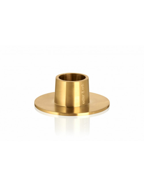 Kandelaar | medium/goud/mat
