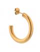 Oorbel Big 1 Chunky Hoop | goud