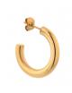 Oorbel Big 2 Chunky Hoop (small) | goud