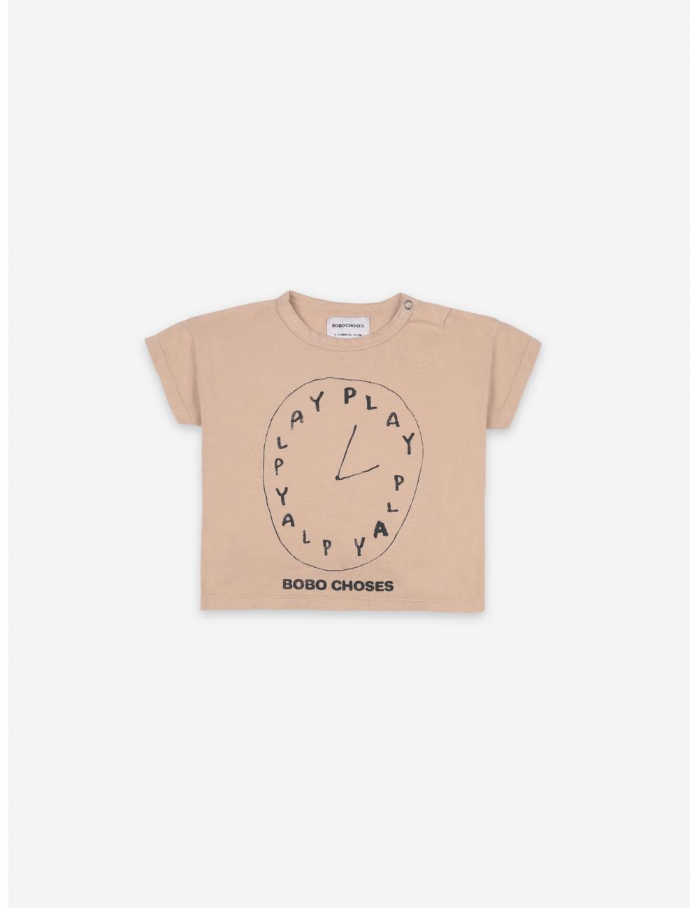 T-shirt Playtime | korte mouw