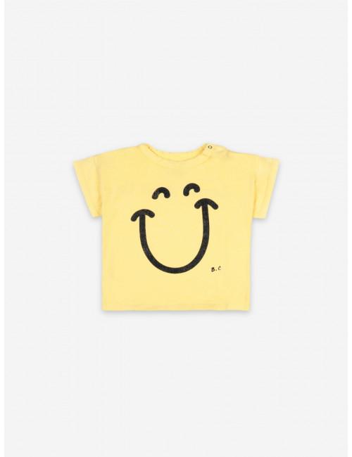 T-shirt Big Smile | korte mouw