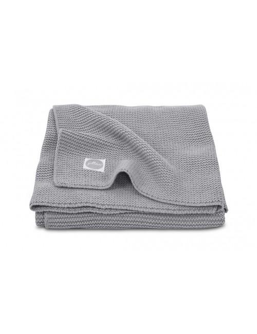 Dekentje 100x150cm | basicknit/stone grey