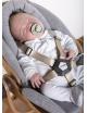 Evolu Newborn Comfortkussen | jersey grijs