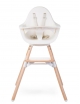 Evolu One.80° Kinderstoel | naturel/wit
