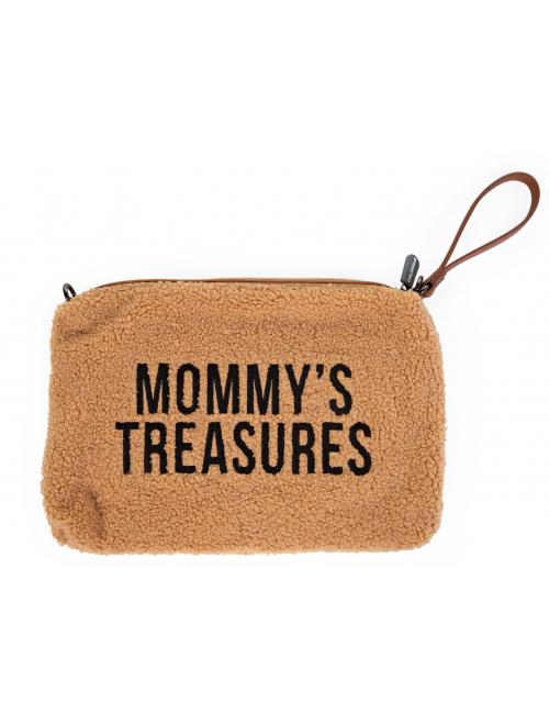 Mommy Clutch | teddy beige