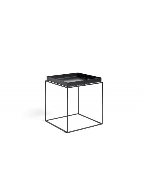 Bijzettafel Tray Medium | zwart