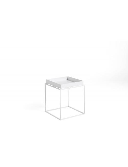 Bijzettafel Tray Small | wit
