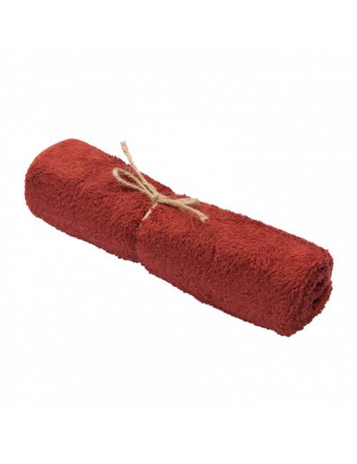 Handdoek 50x74cm | rosewood