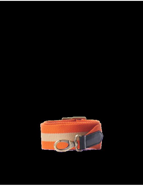 Schouderband  | oranje & zwart