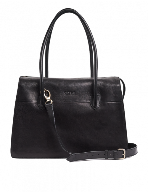 Handtas Kate | black stromboli leather