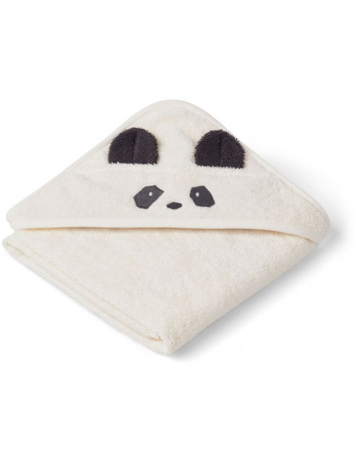 Badcape (baby) Albert | panda creme de la creme