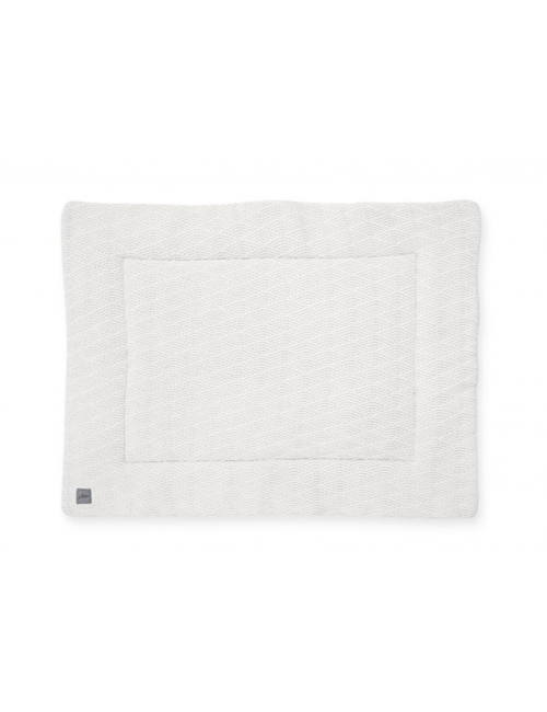 Boxkleed   river knit/cream white
