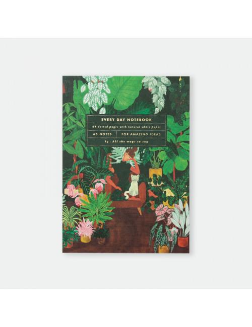 Every Day Notitieboekje A5 | plant addict lady