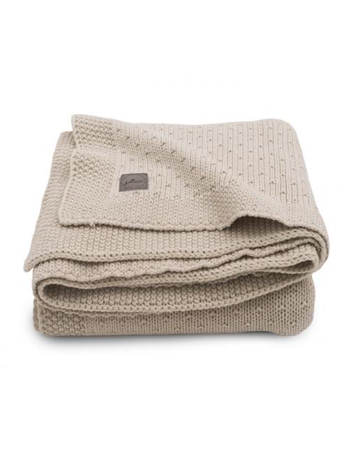 Wiegdeken 75x100cm | bliss knit nougat