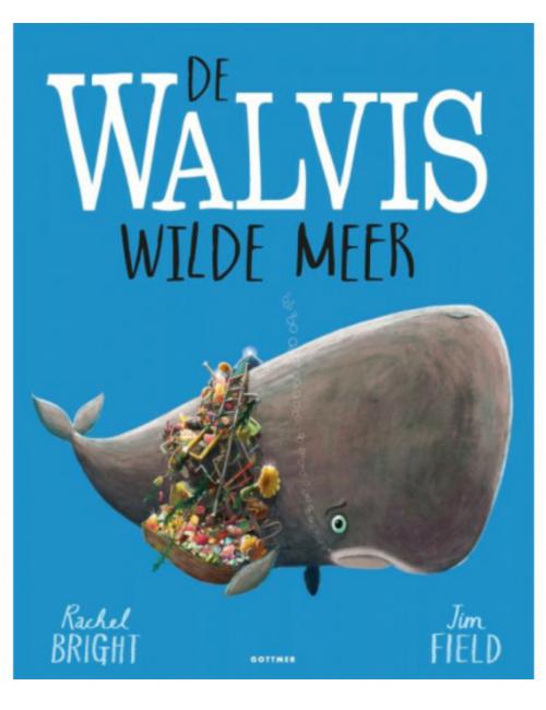 Prentenboek   De walvis wilde meer