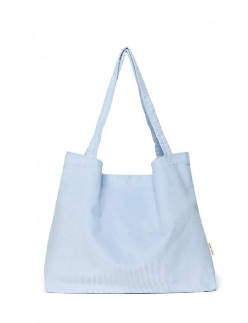 Shopper Rib Bag | baby blue