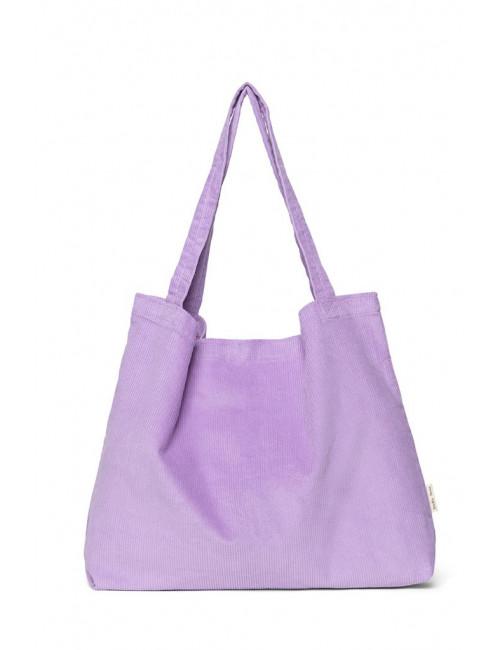 Shopper Rib Bag | lilac