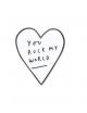 Pin You Rock My World