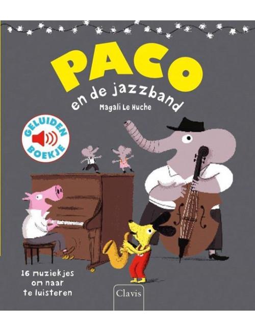 Geluiden Boekje | paco en de jazzband