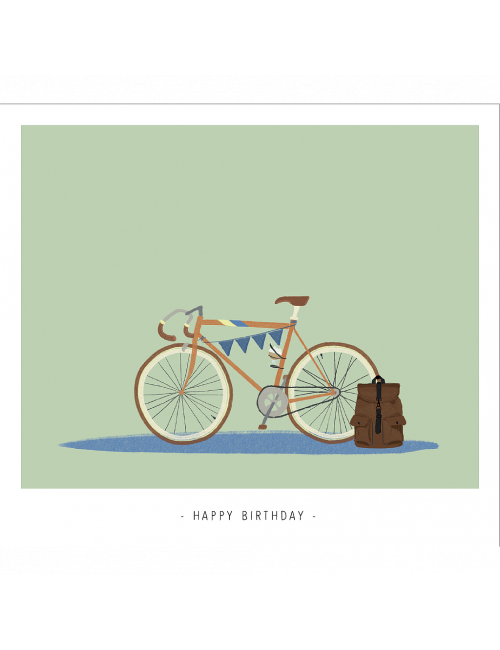 Wenskaart | happy birthday