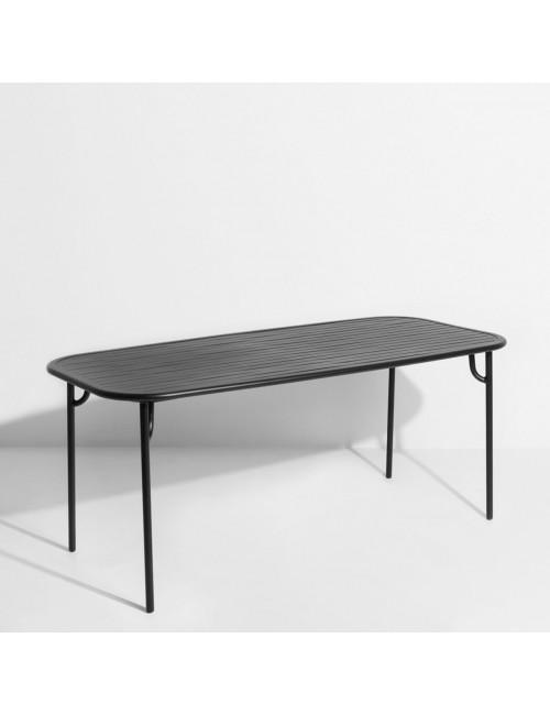 Tuintafel Week-End | medium / zwart
