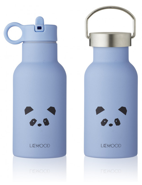 Anker Thermische Drinkfles   panda sky blue