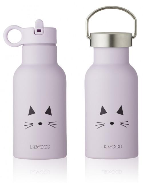 Anker Thermische Drinkfles | cat light lavender