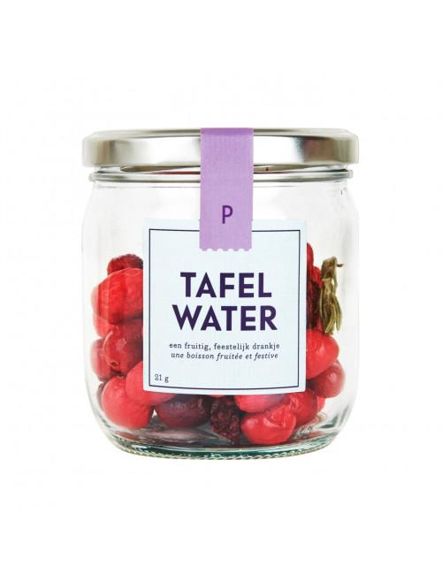 Pineut Fruitig Tafelwater Navulling   kers, cranberry, rozemarijn