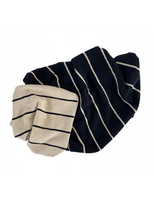 Handdoek Raita 40x60cm | clay