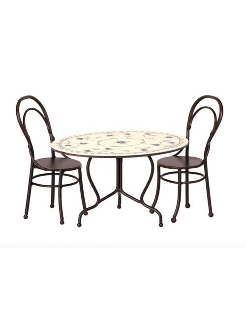 Eettafel met Stoelen | micro