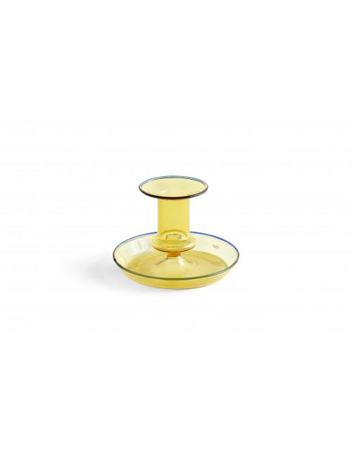 Kandelaar Flare | geel