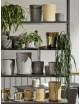 Bloempot met Schotel Botanical | medium / off-white