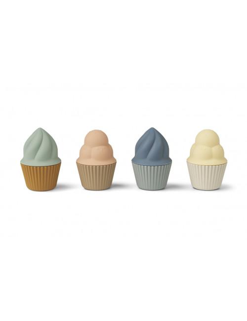 Speelgoed Cupcakes Kate (set v 4)   multi mix
