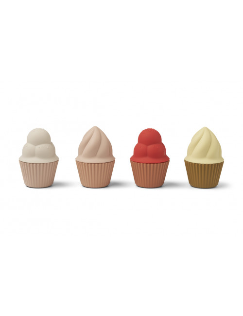 Speelgoed Cupcakes Kate (set v 4) | rose multi mix