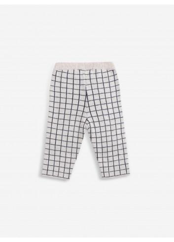 Checkered Gebreid Broekje