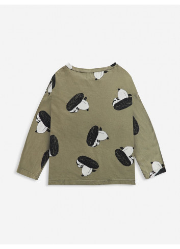 Dog In The Hat Long Sleeve T-Shirt